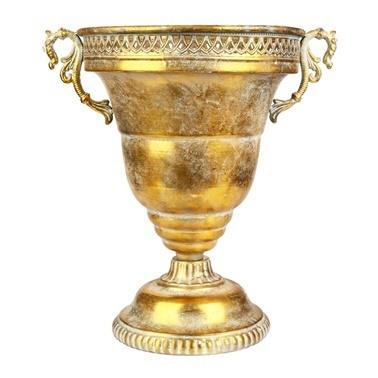 Vitale Marial Gold Metal Kupa Vazo Renkli